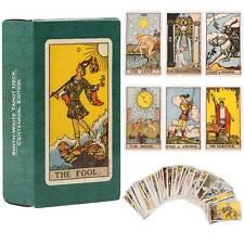 78Pcs Vintage Smith-Waite Rider Centennial Tarot Deck Original Card Cards Sets