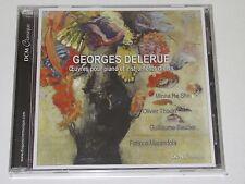 GEORGES DELERUE/OEVRES PUR PIANO ET INSTRUMENTS DIVERS(DCM-CL205)CD ALBUM NEU