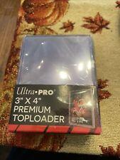 Ultra Pro 3x4 Premium Toploader Pack Of 25