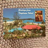 Greetings From Daydream Island - Vintage Advertising Postcard