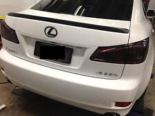 Taillight smoked tint film/overlay sticker with air channel 1500mmx300mm lexus