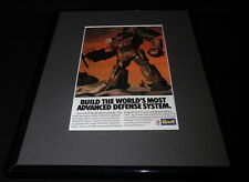 1985 Revell Robotech Force Framed 11x14 ORIGINAL Advertisement