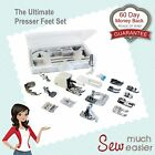 Sewing Machine Presser Foot Feet Set - Janome Singer Brother Elna Machines Parts