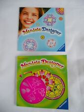 Mandala-Designer Ravensburger Trial Size Stencil with Hearts and Ladybugs >New<