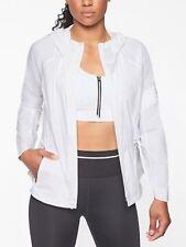 Athleta Open Road CYA Jacket in White NWT $148 M Medium