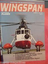 WINGSPAN PLANES # 22 MAY 1985 WINKLE BROWN SIKORSKY S 51 BOULTON PAUL P67 MIZUNO