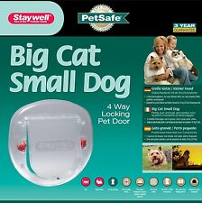 Petsafe Staywell Large Cat Small Dog Glass Fitting Pet Door -Cat Flap for Window