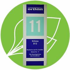 Schüßler Salz Nr.11 Silicea D12 Globuli PZN 08884582