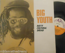 BIG YOUTH - Natty Cultural Dread ~ VINYL LP