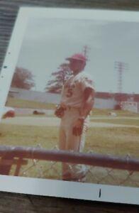 Original Minor Baseball Photo 1970 Arkansas Travelers Jose Cruz Travs