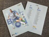 Brighton v Newcastle United RESTART Programme 18/7/2020! READY TO DISPATCH!!!