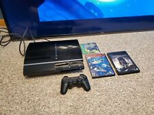 PS 3 60GB Black Console  backwards compatible
