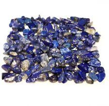 57g Blue Lapis Lazuli crystals mini tumbled gemstones 2oz embellishment stones