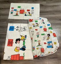 Travel Pillow Case  Child Pillow Case EASTER CHARLIE BROWN and Snoopy Peanuts  Linus  Sally  Lucy