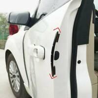 4× Black Car Door Edge Scratch Anti-collision Protector Guard Strip Accessories