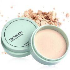 3 Farben Translucent Loose Powder Mit Puff Smooth Face Makeup Foundation