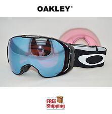 OAKLEY® AIRBRAKE™ XL PRIZM™ SNOW BOARD SKI GOGGLES BLACK W/ SAPPHIRE + HI PINK