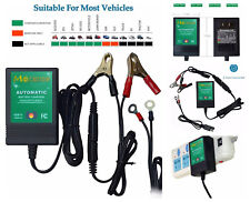 Automobile Motorcycle Smart Battery Charger Maintainer Tender Trickle 12V 1000mA