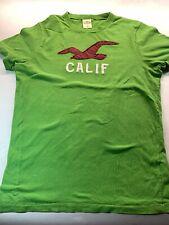 Mens Hollister Medium Green Tshirt