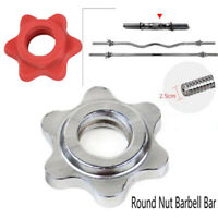 Anti-slip Weight Lifting Fixed Dumbbell Dumbell Nut Nut Barbell Bar Collar Screw