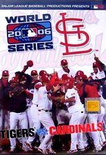 2006 WORLD SERIES DETROIT TIGERS Vs. ST. LOUIS CARDINALS New Sealed DVD MLB