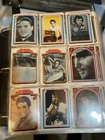 ELVIS PRESLEY 1978 COMPLETE SET [ #1-66]  BOXCAR Trading Cards NEAR MINT