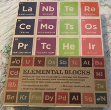 Uncle Goose Periodic Table Blocks - Made in USA Free Shipping!