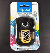 Big.Eye Army Zebra Robot Flipper Toothbrush Holder Hygienic