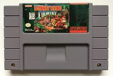 Super Nintendo SNES Donkey Kong Country Video Game Cartridge