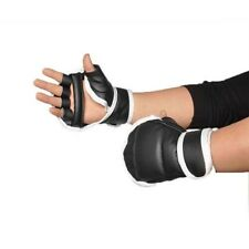 Kid Half Boxing Finger Sparring Mittens Taekwondo Protector Sandbag Punch Gloves