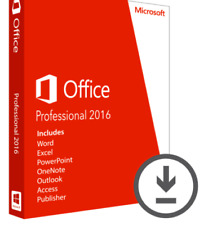 Microsoft Office Professional 2016 Clé de produit-Lifetime
