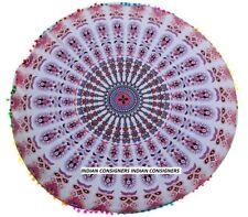 Amazing Mandala Ombre Boho Floor Cushion Cover Unique Design Home Decor Pouf
