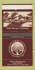 Matchbox - Mesquite Golf Country Club Palm Springs CA