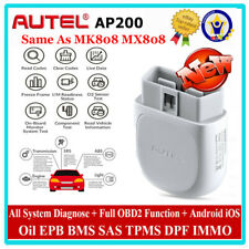 Autel AP200 Bluetooth 4.0 OBD2 II Scanner Tool Android IOS IMMO TPMS Full System