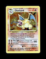 1999 POKEMON CHARIZARD BASE SET HOLO 4/102 - RARE