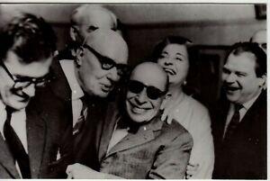 Composer Igor Stravinsky Moscow, 1962 Old Photo Postcard