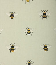 Roman Blind Sophie Allport Bees Fabric Interlined Mechanised Track MTM