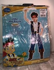 Disney Jake And The Never Land Pirates Jake Dress Up Birthday Costume sz 3-4