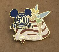 NEW Disneyland July 04, 2005 Tinkerbell Cast Exclusive Enameled Cloisonné Pin