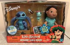BRAND NEW Disney Lilo & Stitch Bedtime Figure Set Scrump 2002 Hasbro SEALED RARE
