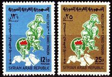 Syria Syria 1965 * mi.923/24 Revolution National Council