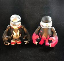 """Touma SPANKY, KING Knuckle Bear 6"""" Knucklebear Urban Vinyl Toy DAMAGED"""