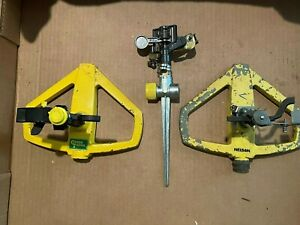 Lot of 3 Assorted Yard Lawn/Garden Sprinklers. Nelson, Green Thumb & 1 Unmarked.