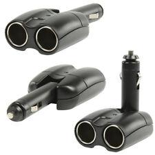 12V Zigarettenanzünder Verteiler, KFZ Doppelsteckdose, 12 Volt, verstellbar, LED