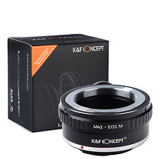 K&F Concept Lens with tripod Adapter M42 42MM Screw to Canon EOS M Camera M3 M5