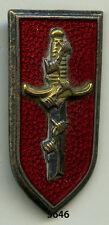 Insigne , Cie. de Garde des Prisonniers de l'Axe  ( infanterie )