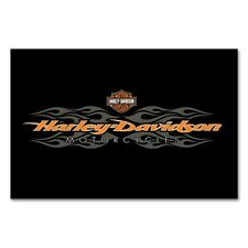 8' Harley Davidson Logo Radical Flames Pool Table Logo Felt Cloth Pool Billiard