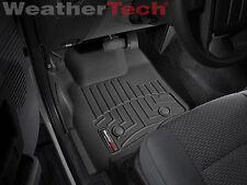 WeatherTech FloorLiner - Ford Super Duty SuperCrew w/o Shifter -2011-2012-Black