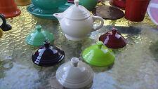FIESTA WARE SMALL 2 CUP TEA POT LID ONLY cinnabar