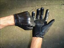 Guantes de cuero policía guantes guantes Police cop gloves